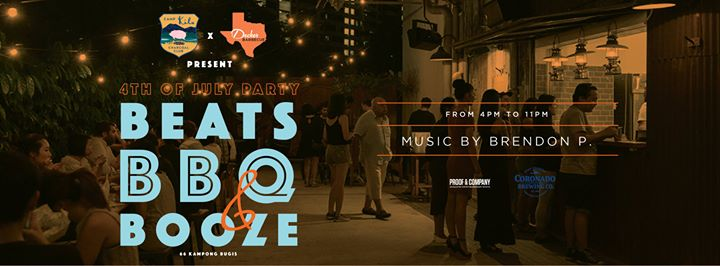4th of July Beats, BBQ & Booze Party