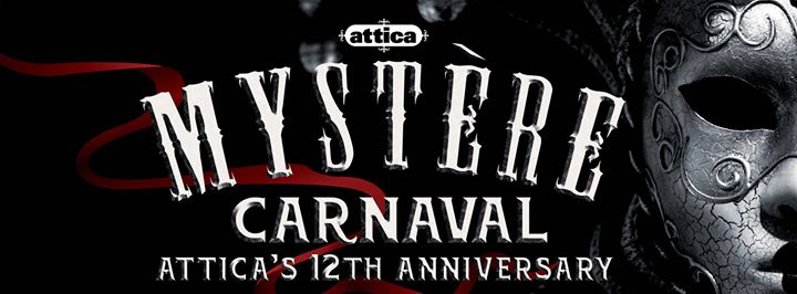 Mystère Carnaval 12th Anniversary, Sat 4 June